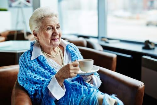 EHPAD - Maison de retraite - Café