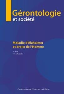 Gérontologie et société et droits de l'homme