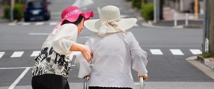 Mobilité seniors - Japon - Chine - Perte d'autonomie - Urbanisme