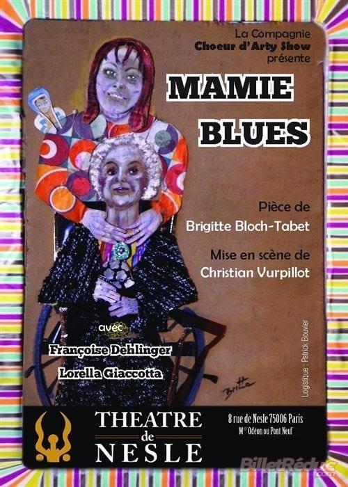 Pièce de théâtre Mamie Blues