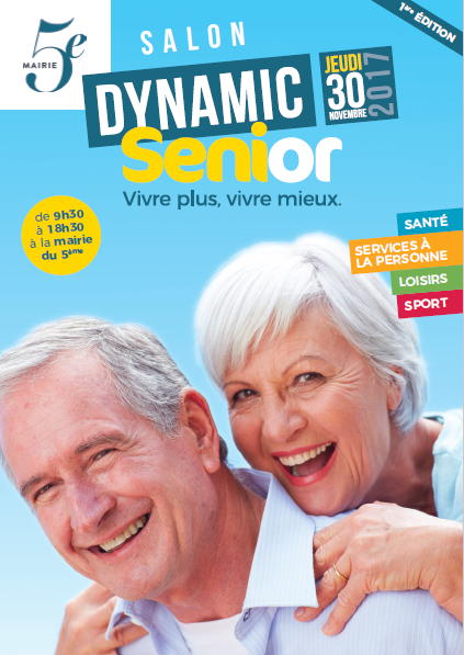 Salon Dynamic senior - Affiche