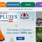 Un site Internet pour faire son shopping tout en couleurs !