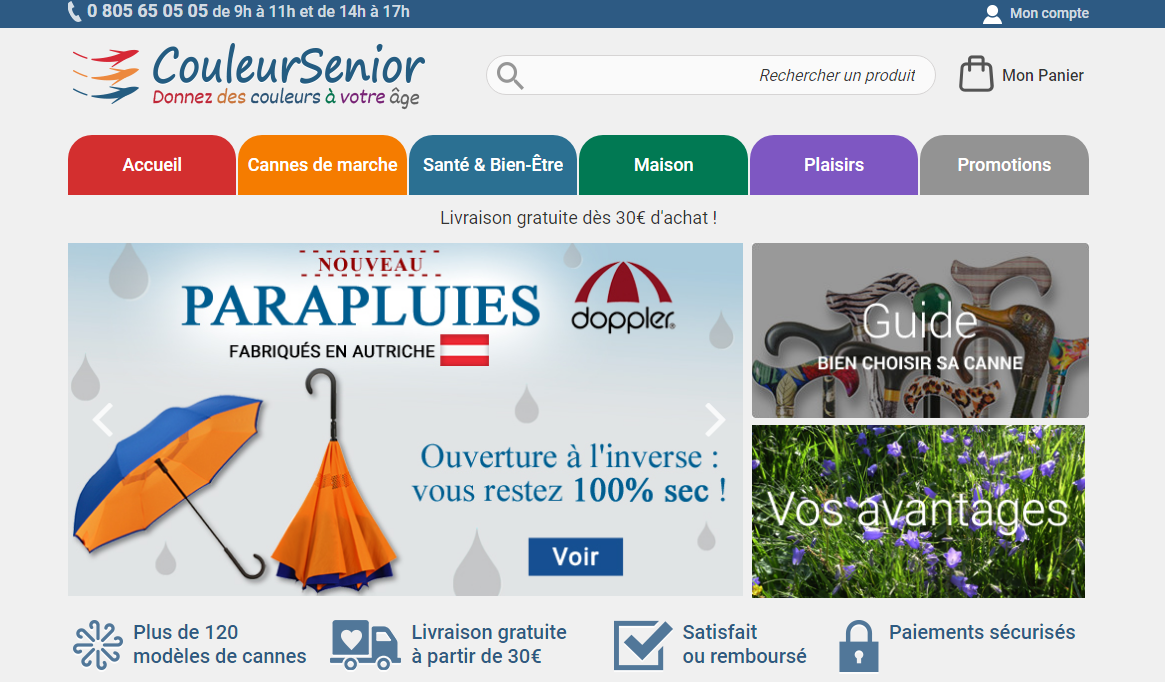 Site internet couleursenior