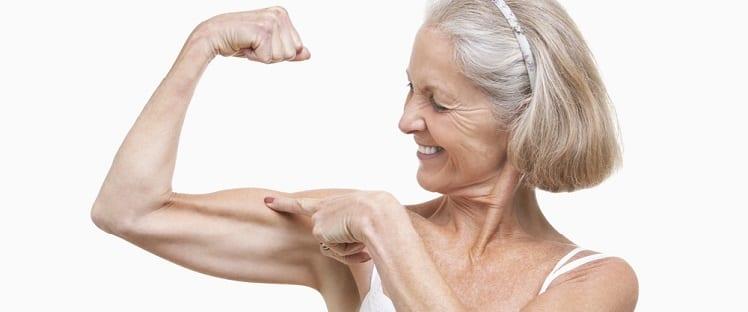 Sport chez les seniors - Activité - Muscle