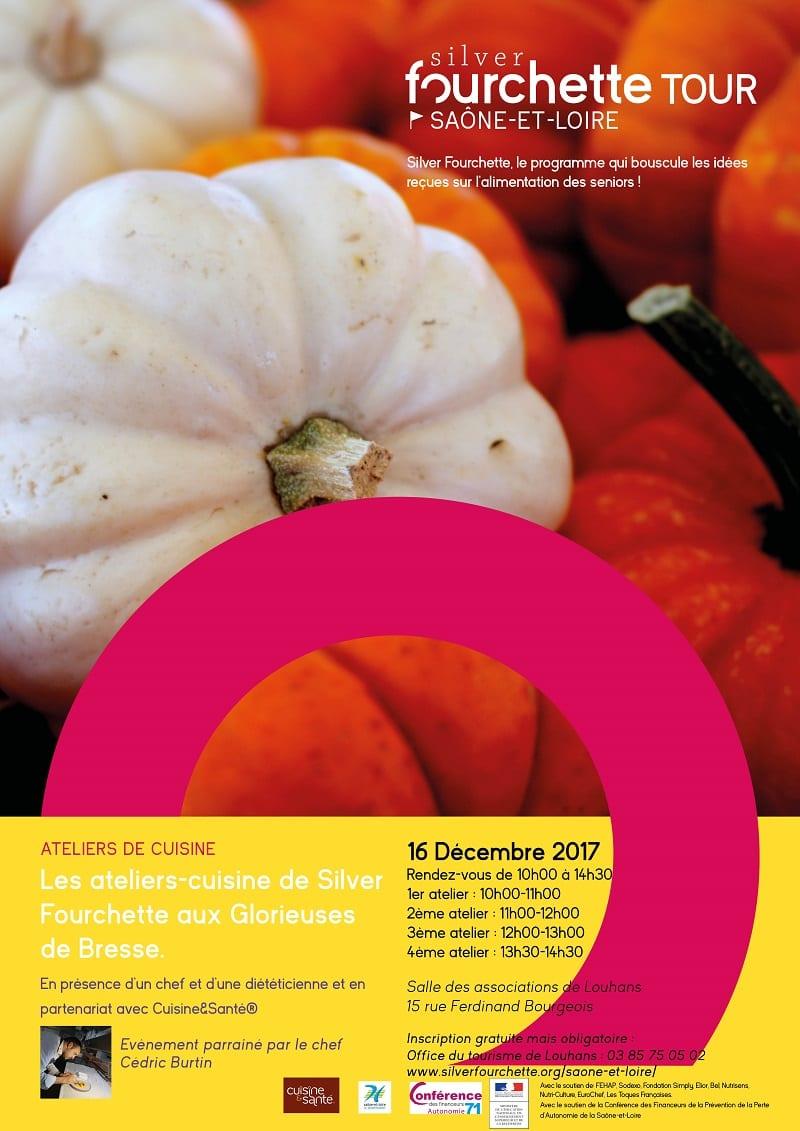 Ateliers cuisine Silver Fourchette @ Salle des associations de Louhans | Louhans | Bourgogne Franche-Comté | France