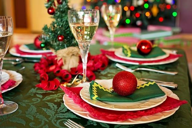 Table de Noël - Décoration - Repas