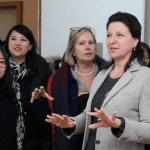 Agnès Buzyn visite la résidence médicalisée DomusVi de Xi'An en Chine