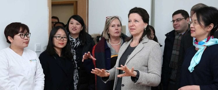 Agnès Buzyn en Chine