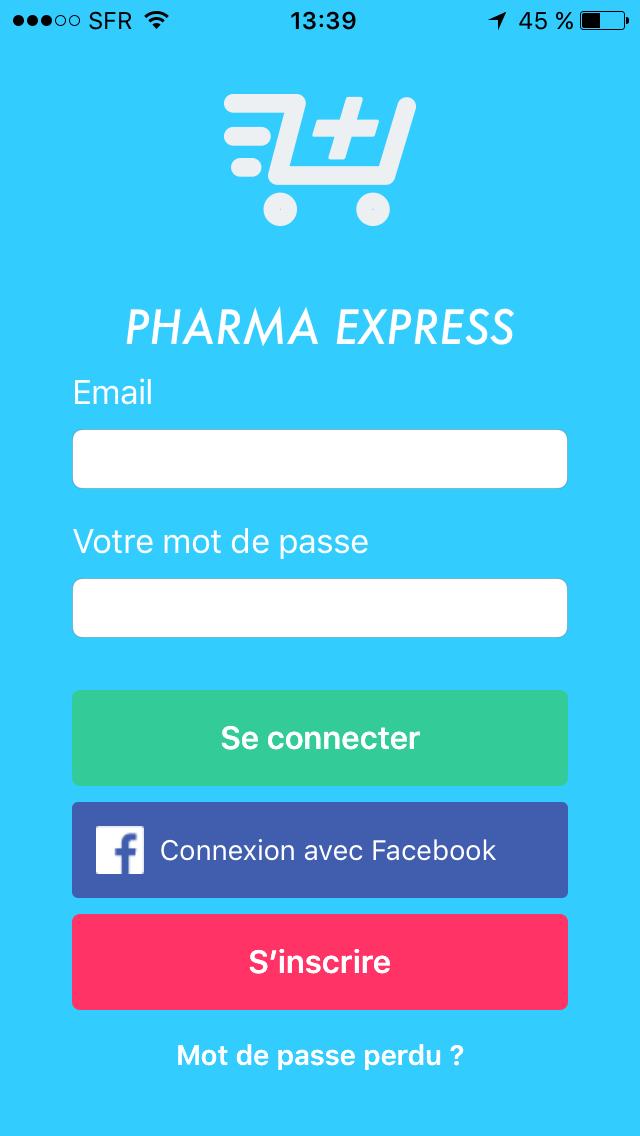 Application Pharma Express