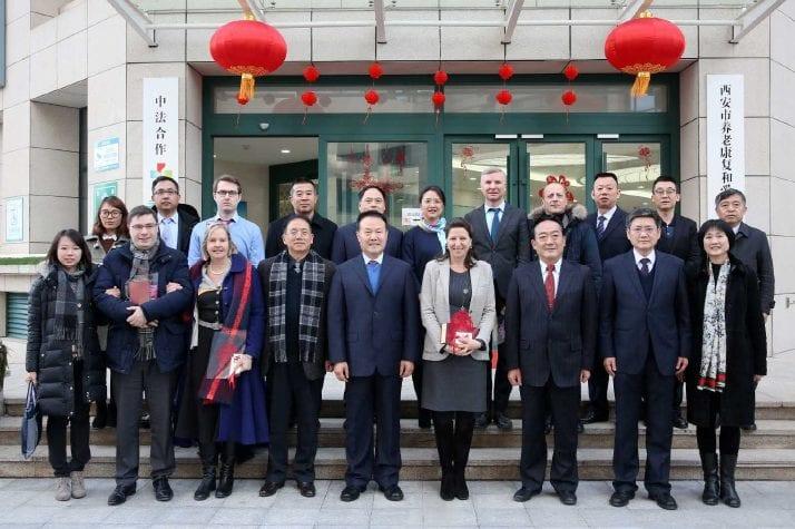 Délégation française en Chine
