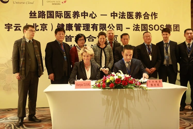 Groupe sos seniors - Chine