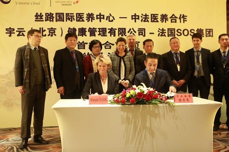 Groupe sos seniors - Chine
