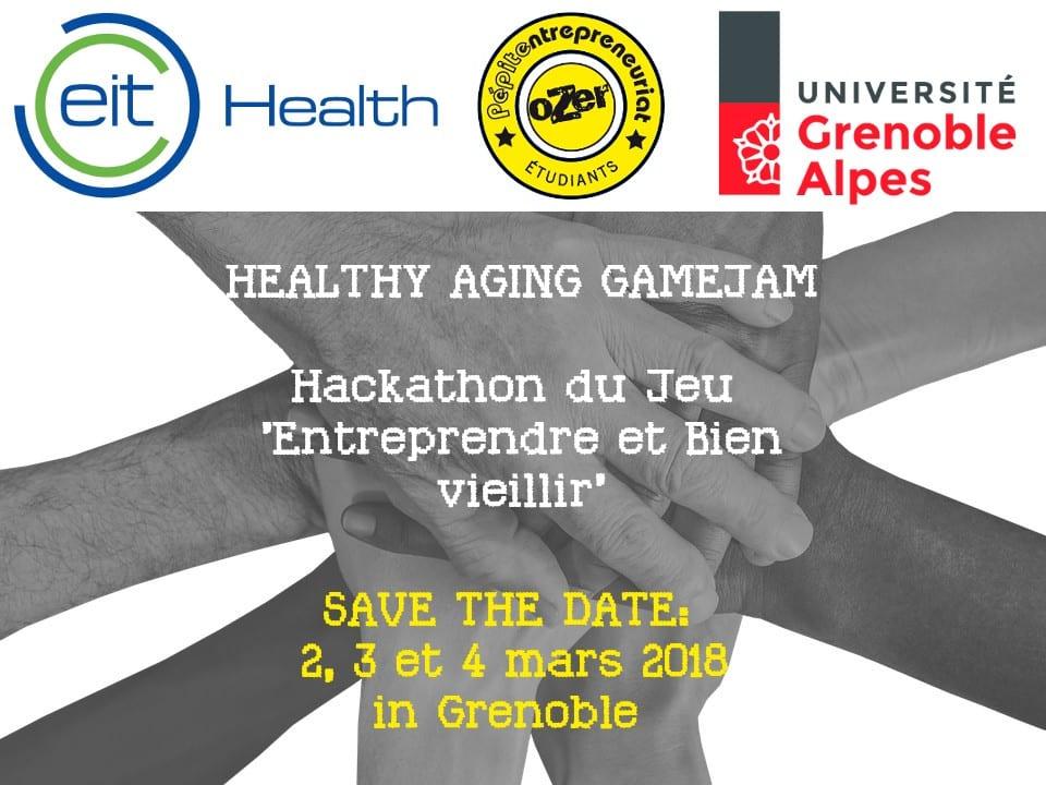 Hackaton Healthy Ageing GameJam @ Espace ESCAPE | Grenoble | Auvergne-Rhône-Alpes | France