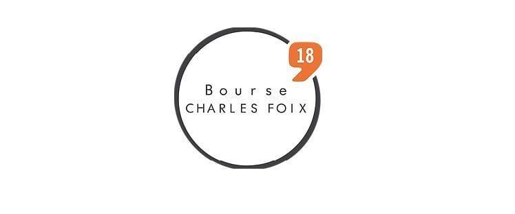Bourse Charles Foix 2018