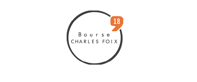 Bourse Charles Foix 2018