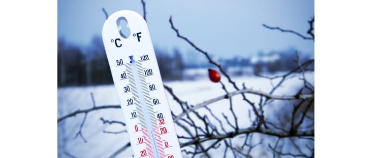 Hiver - Neige - Froid - Thermomètre