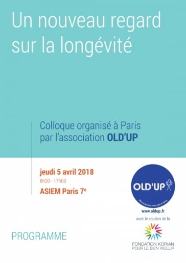 Colloque Old'Up @ ASIEM | Paris | Île-de-France | France