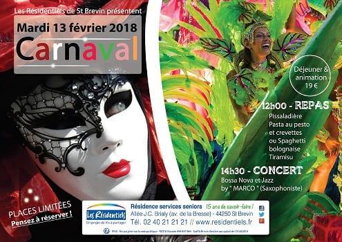 Carnaval aux Résidentiels de Saint-Brévin