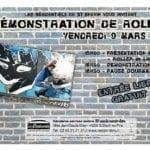 9 mars 2018 : une démonstration de rollers aux Résidentiels de St-Brevin-les-Pin