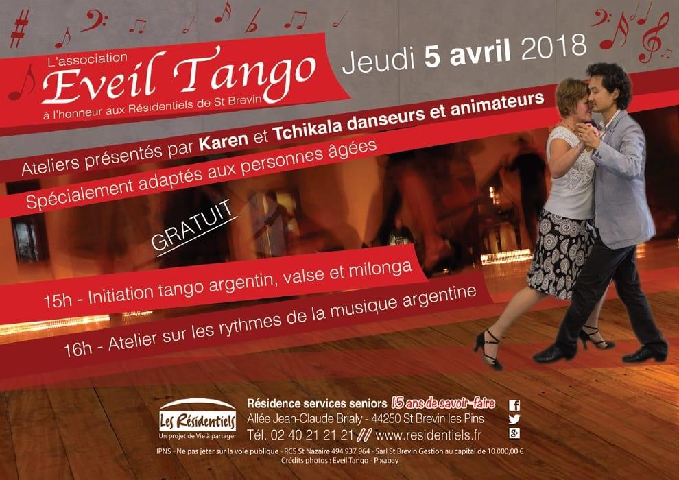 Initiation au Tango aux Résidentiels de St-Brévin-les-Pins @ « Les Résidentiels » de St Brevin Les Pins   Saint-Brevin-les-Pins   France