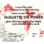 Derniers jours pour réserver vos places pour le concert exceptionnel d'Huguette The Power !