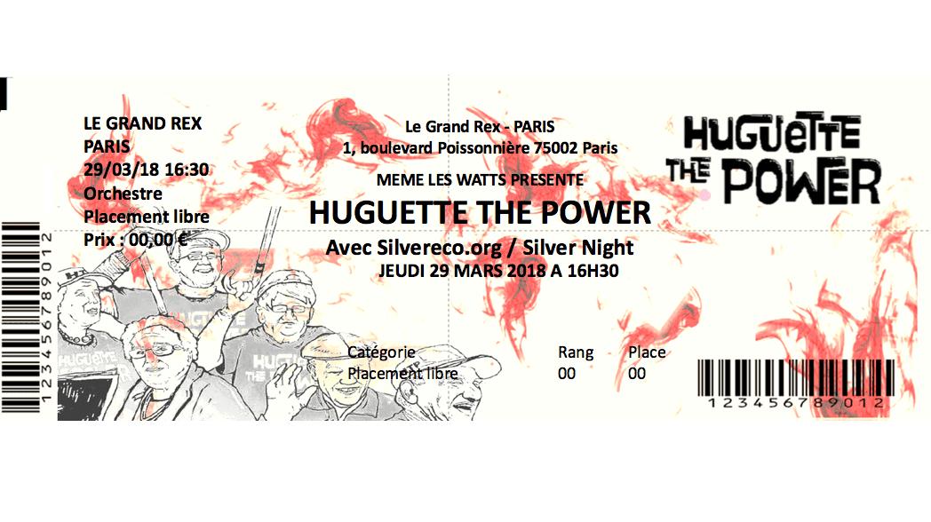 concert Huguette the power