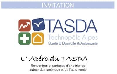 Apéro du TASDA @ Maison de l'autonomie du Département, Salle de conférence | Grenoble | Auvergne-Rhône-Alpes | France