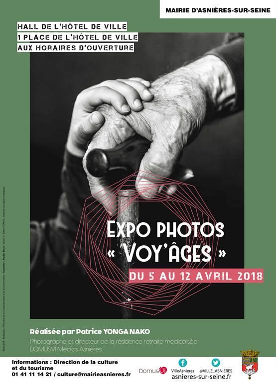 """Expo photos """"Voy'âges"""" @ Halle de l'hôtel de ville   Asnières-sur-Seine   Île-de-France   France"""