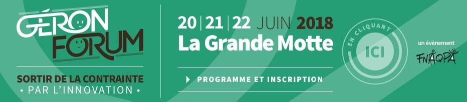 Géronforum - RDV annuel de la FNAQPA @ Le Pasino - La Grande-Motte | La Grande-Motte | Occitanie | France