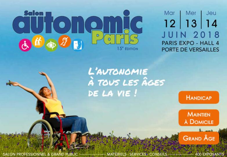 Salon Autonomic Paris @ Paris Expo - Hall 4 | Paris | Île-de-France | France
