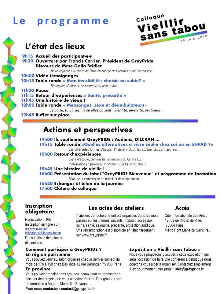 programme greypride