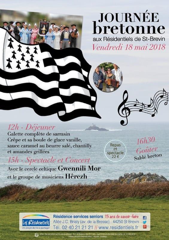 Journee bretonne aux Residentiels de St Brevin 180518