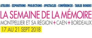 3ème édition de la semaine de la mémoire @ Montpellier | Occitanie | France