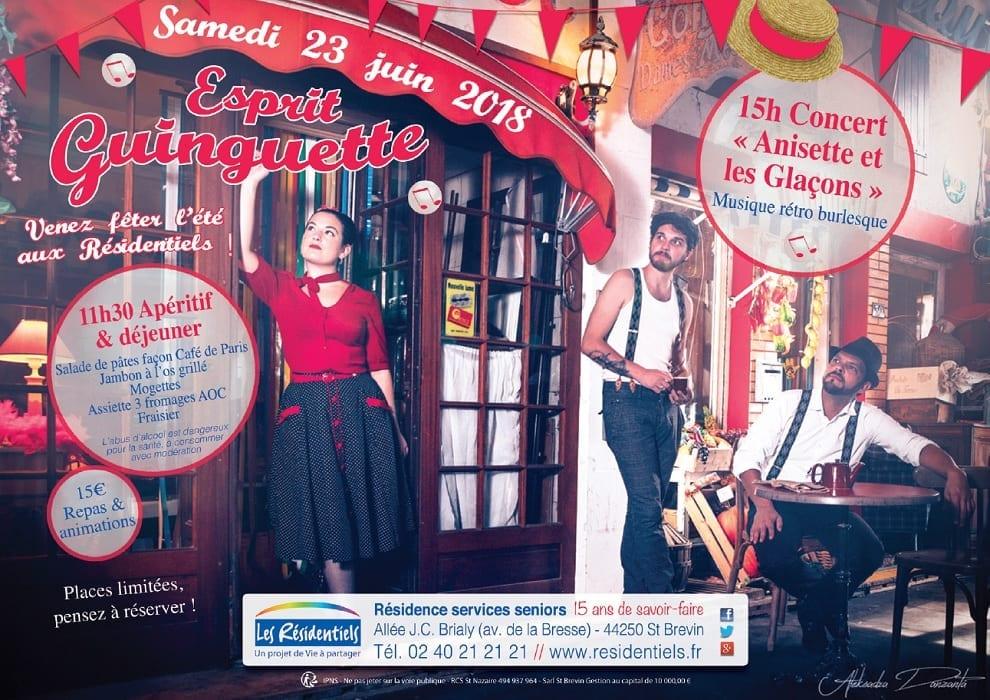 Les Résidentiels de St-Brevin-les-Pins fêtent l'été dans un esprit guinguette @ Les Résidentiels | Saint-Brevin-les-Pins | France