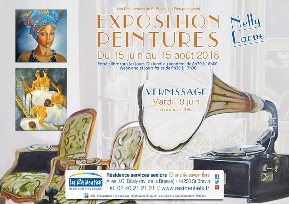 Exposition aux Résidentiels de St Brevin du 15 juin au 15 août @ Les Résidentiels | Saint-Brevin-les-Pins | France