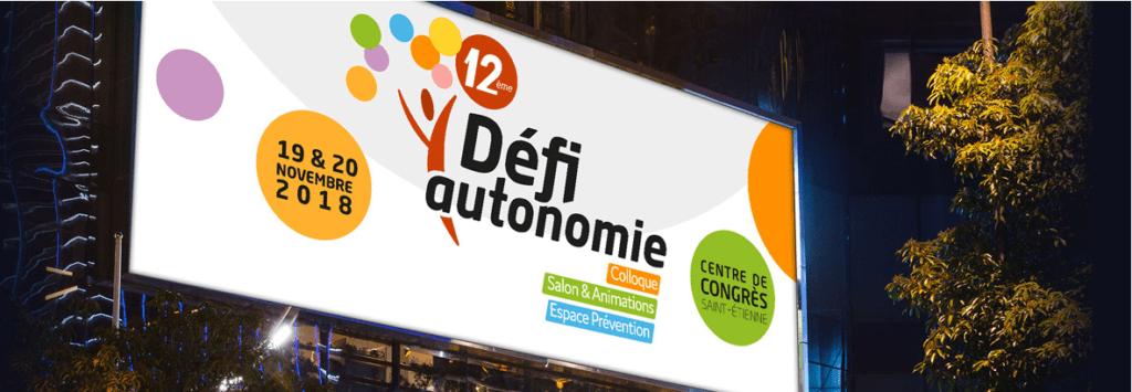 12ème colloque Défi Autonomie @ CENTRE DE CONGRÈS DE SAINT-ETIENNE  | Saint-Étienne | Auvergne-Rhône-Alpes | France