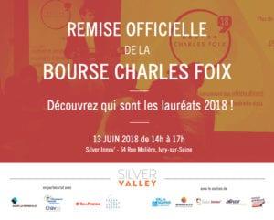 Remise officielle de la Bourse Charles Foix 2018 @ Silver Innov' | Ivry-sur-Seine | Île-de-France | France