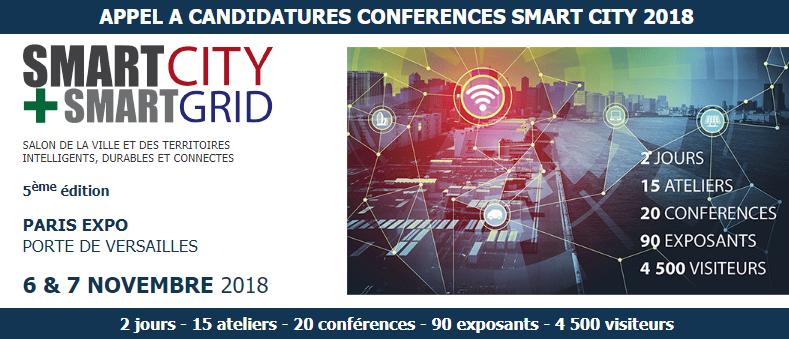 Congrès Smart City 2018 @ Paris Expo | Paris | Île-de-France | France