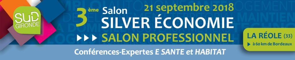 3e salon professionnel Silver économie, La Réole @ Mairie de la Réole | La Réole | Nouvelle-Aquitaine | France