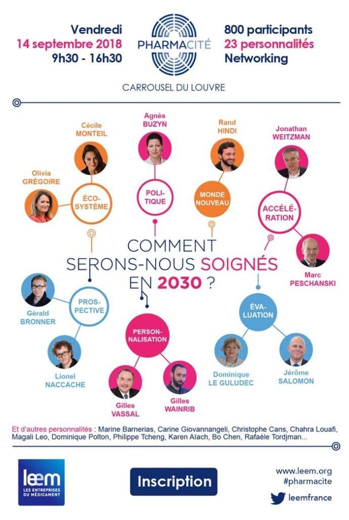 3e édition de PharmaCité : Comment serons-nous soignés en 2030 ? @ Carrousel du Louvre | Paris | Île-de-France | France