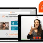 Medaviz rend la téléconsultation accessible aux personnes sourdes et malentendantes avec Acceo