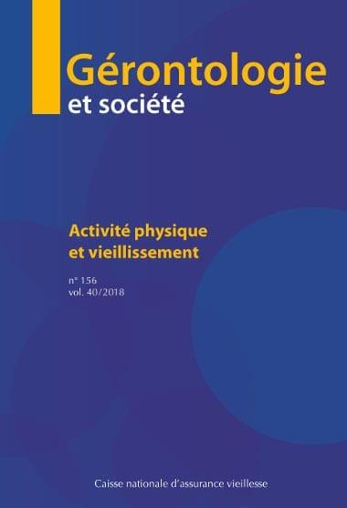 gérontologie et société 156