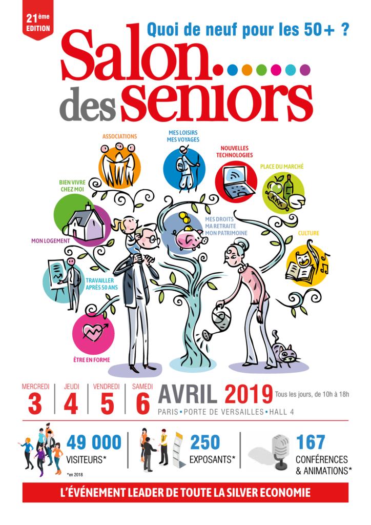 Affiche salon des seniors 2019