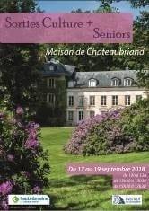 Programme culturel à destination des seniors à la Maison de Chateaubriand @ Maison de Chateauriand | Châtenay-Malabry | Île-de-France | France