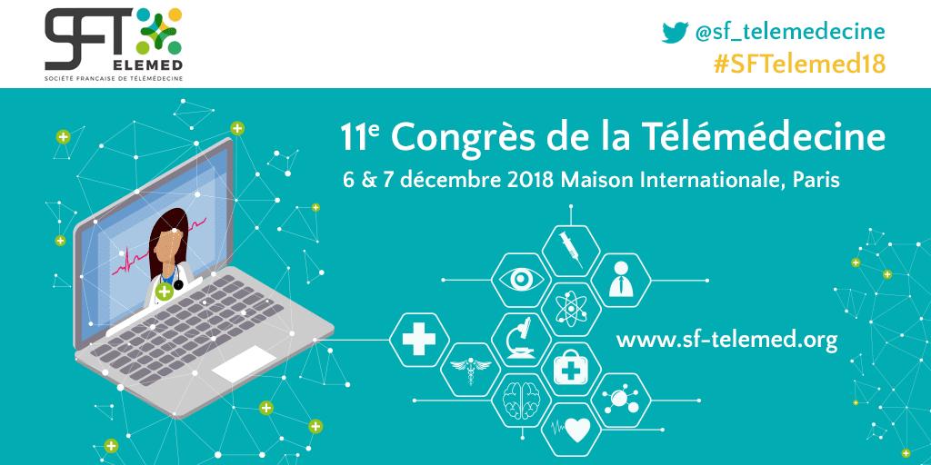 11e Congrès Européen de la Télémédecine @ Maison internationale   Paris   Île-de-France   France
