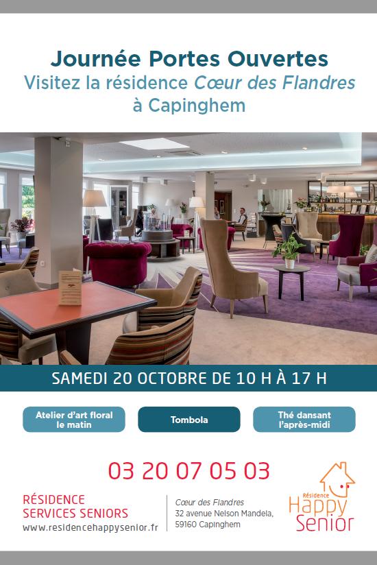 Journée Portes ouvertes à la résidence Happy Senior Coeur des Flandres de Lille Capinghem @ Capinghem | Hauts-de-France | France