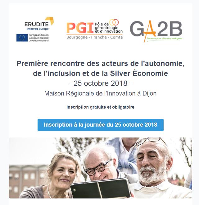 Première rencontre des acteurs de l'autonomie, de l'inclusion et de la Silver Économie @ Maison Régionale de l'Innovation | Dijon | Bourgogne Franche-Comté | France