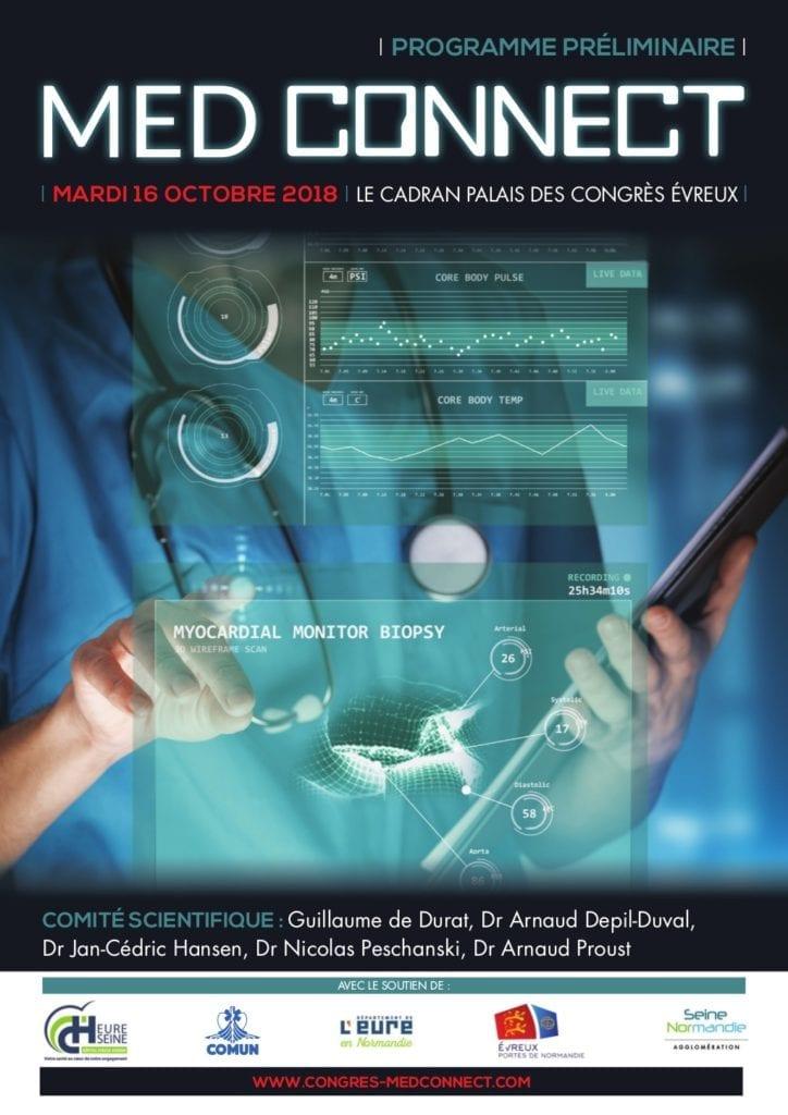 Med Connect Evreux @ Le CADRAN - Palais des Congrès   Évreux   Normandie   France