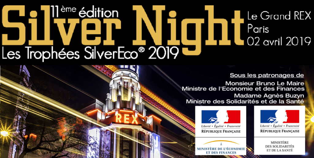 Silver Night / Les Trophées SilverEco 2019 @ Grand Rex | Paris | Île-de-France | France