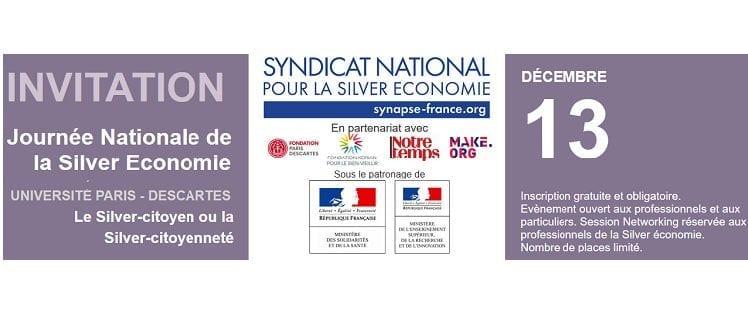 Bannière Journée Nationale de la Silver Economie